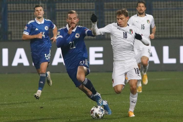 Italija slavila na Grbavici, novi poraz BiH