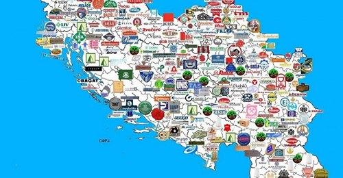 Mapa proizvodnje u Jugoslaviji: Pravljeni su avioni, kompjuteri, brodovi…