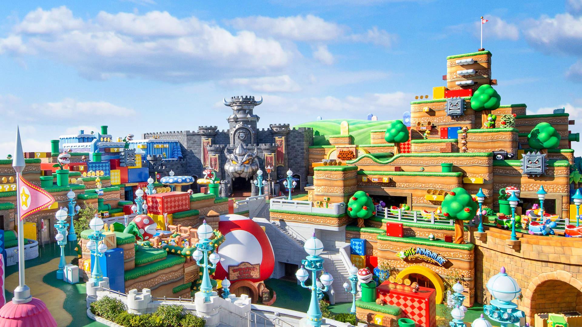 Uprkos pandemiji otvoren Super Mario World u Japanu