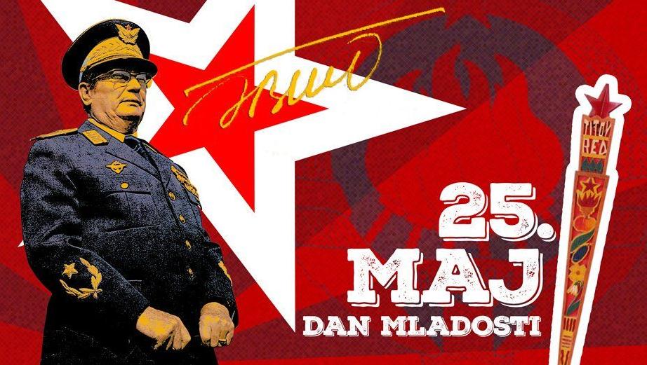 Dan mladosti – slet, štafeta i proslava Titovog rođendana