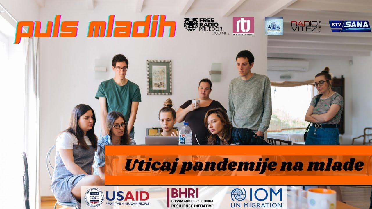 PULS MLADIH: Uticaj pandemije na mlade