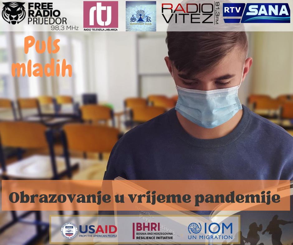 PULS MLADIH: Obrazovanje u doba pandemije