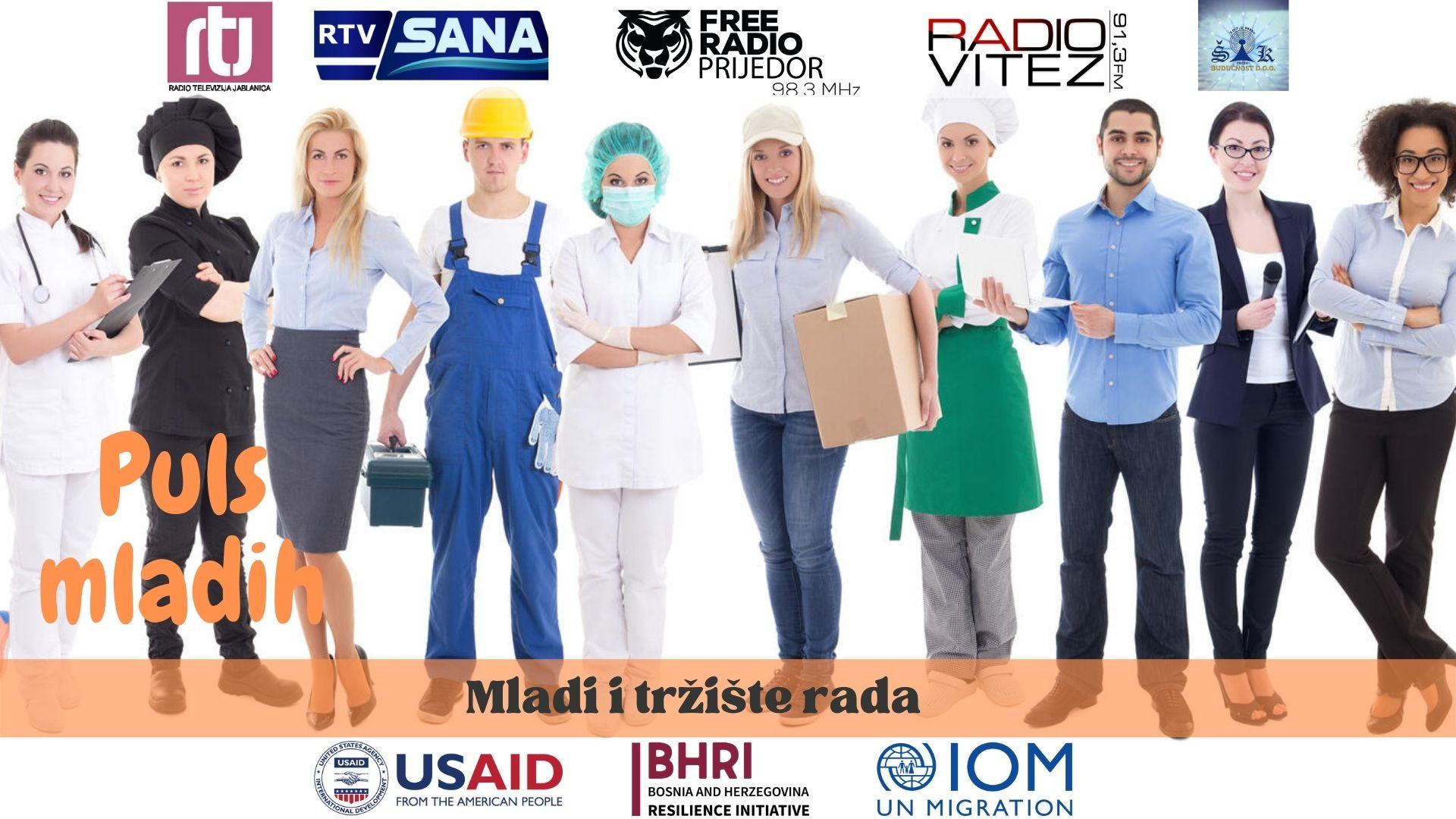 PULS MLADIH – Mladi i tržište rada
