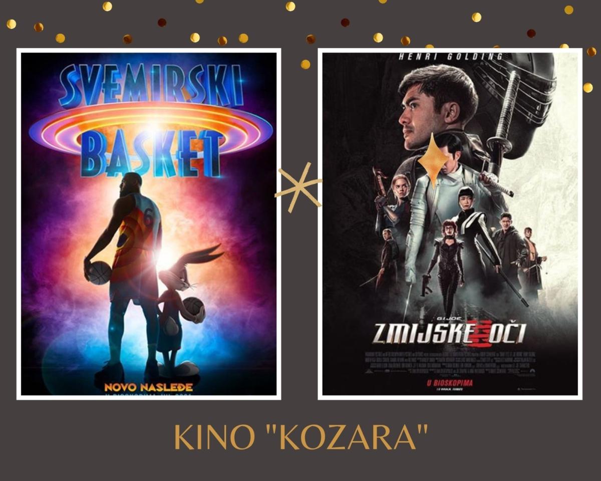 """Repertoar kina """"Kozara"""" do 28.jula"""