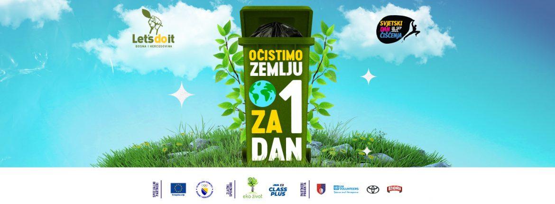 Svjetski dan čišćenja u Bosni i Hercegovini: Čisti se više od 30 lokacija širom zemlje