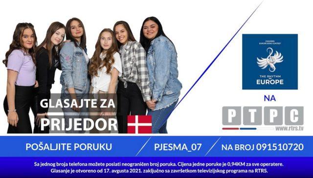 """Veliko finale muzičkog takmičenja ,,Ritam Evrope"""" 25. septembra"""